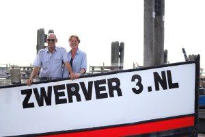 Uw gastheer en vrouw, Jos en Ilse Molenaar van Rondvaart en Sportvisbedrijf de Zwerver3