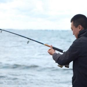 Visser in actie aan boord van de Zweerver3